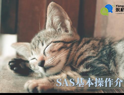 SAS基本操作介面